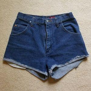 Wrangler jean shorts from Aritzia